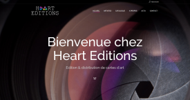 Heart Editions, distribution de cartes d